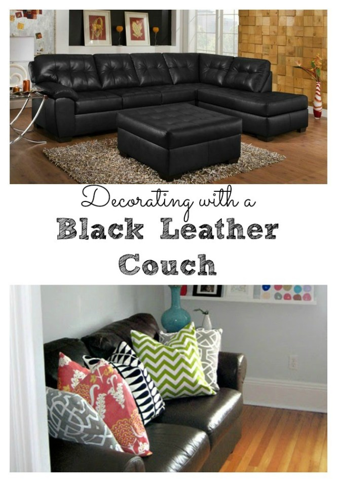 Living Room Design With Black Leather Sofa Immense Designs Furniture 7