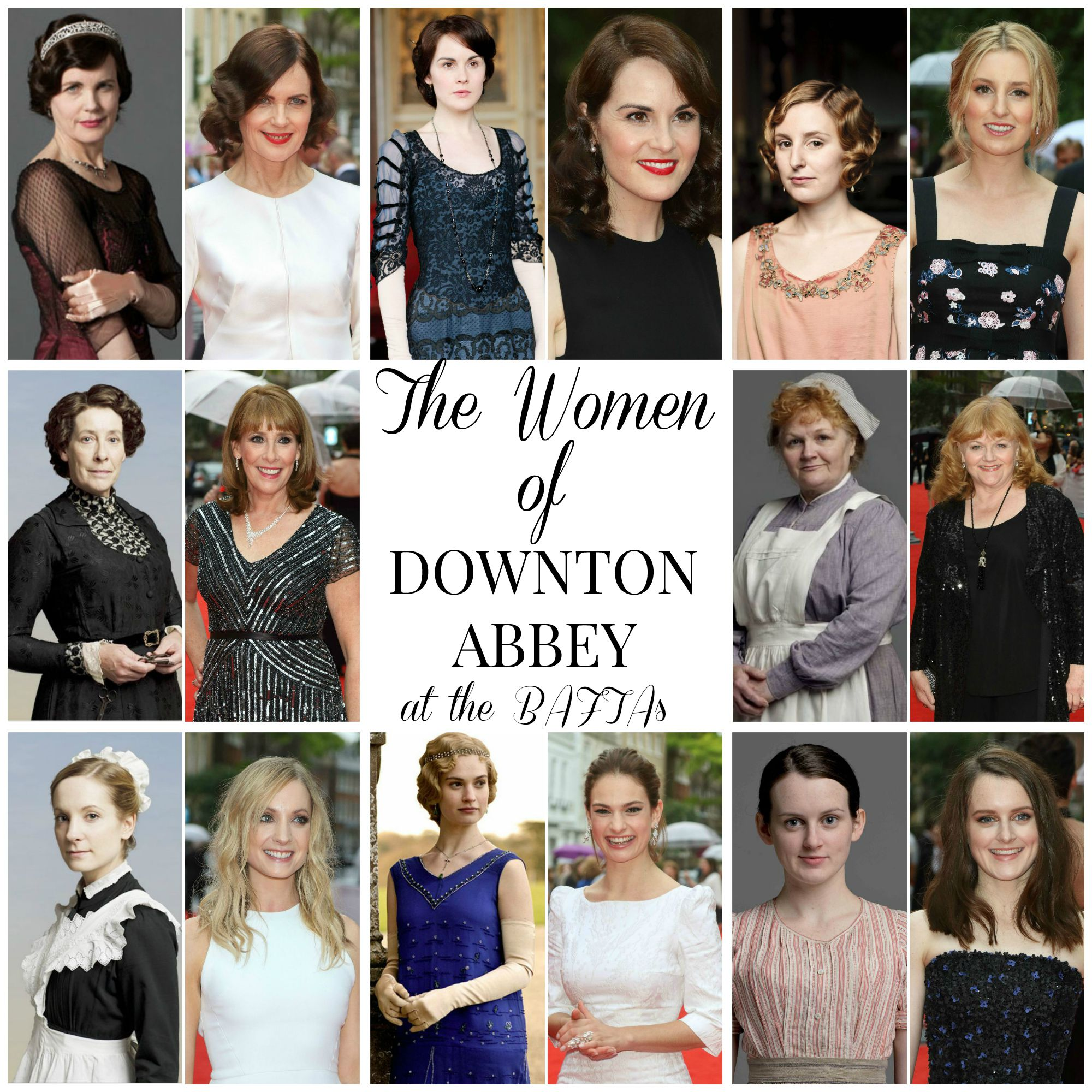 Hairstyle Ideas Featuring the Women of Downton Abbey