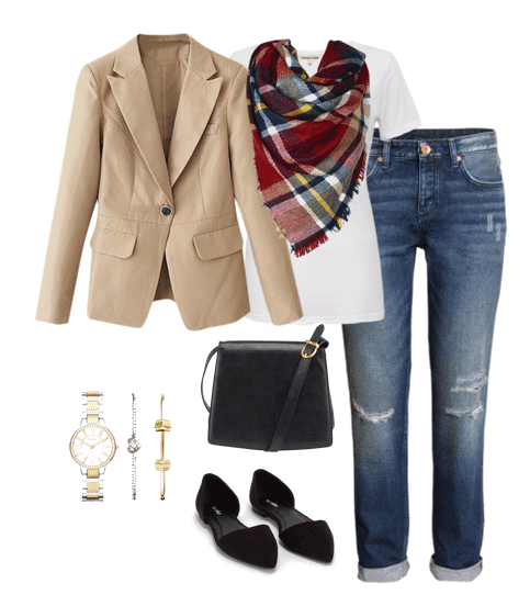 These basic blazer outfit ideas can be a starting point for you to create outfits you love. Take away elements you don't like and add in ones you do!