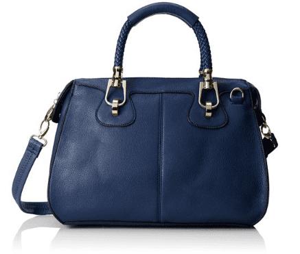 MG Collection Marissa Top-Handle Doctor Shoulder Bag