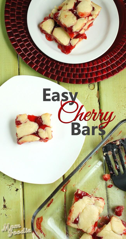 cherry cobbler bars