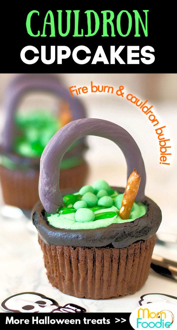 Cauldron Cupcakes Pinterest