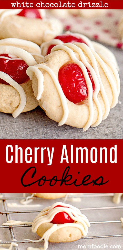 Cherry Almond Cookies