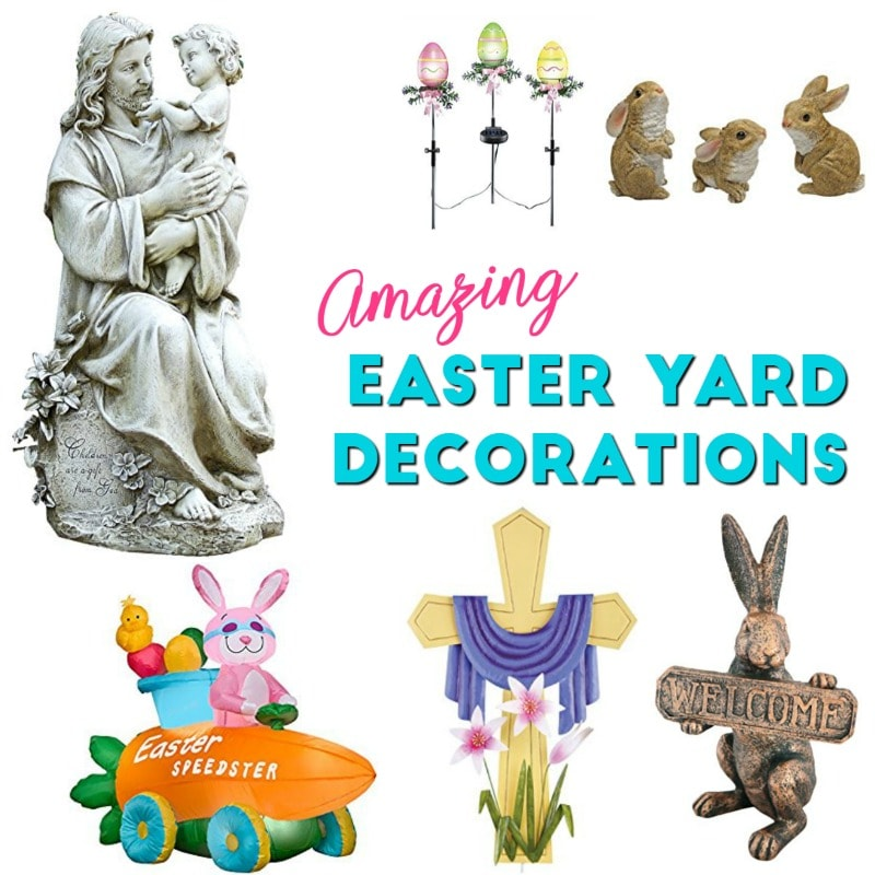 Easter Yard Decorations: Outdoor Easter Decorations