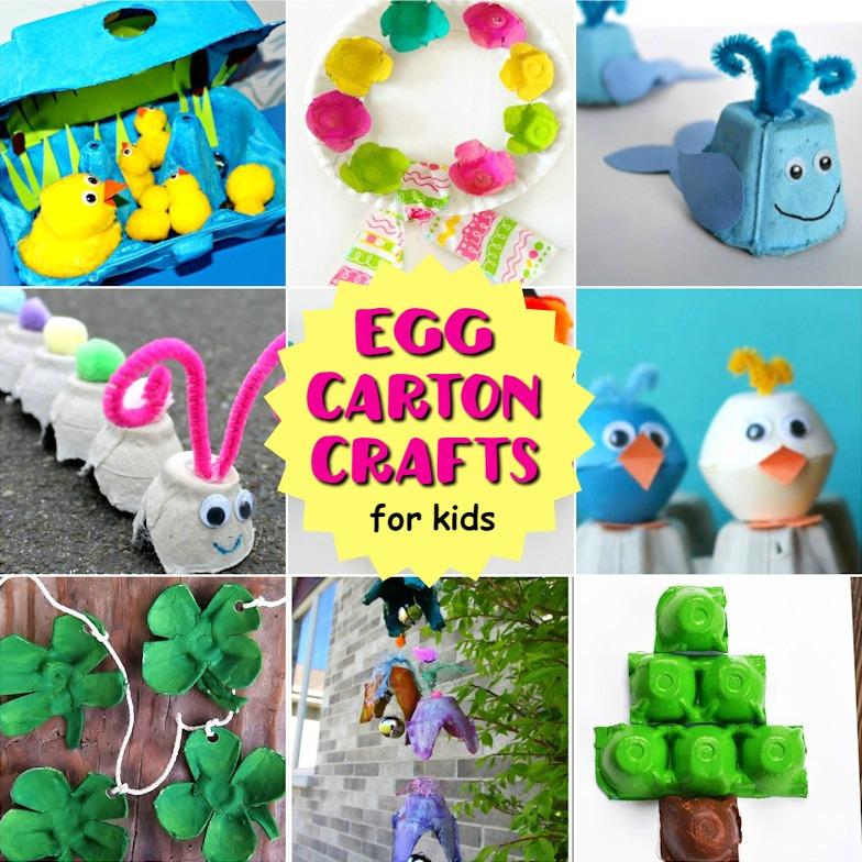 Egg carton Crafts for kids