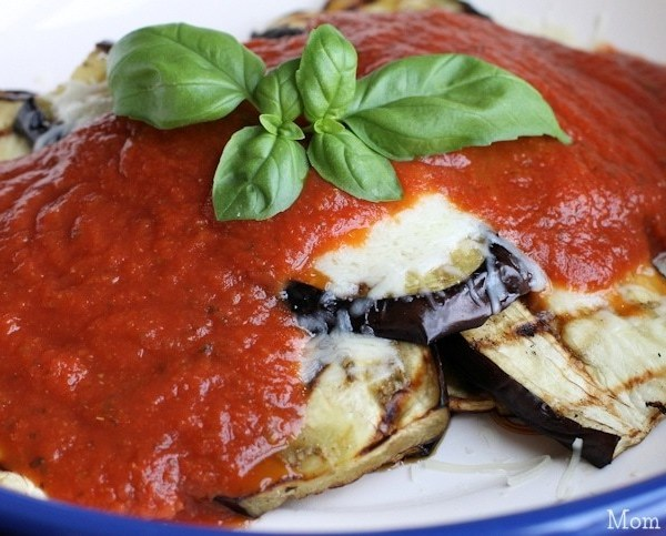 Grilled Eggplant Parmesan Recipe