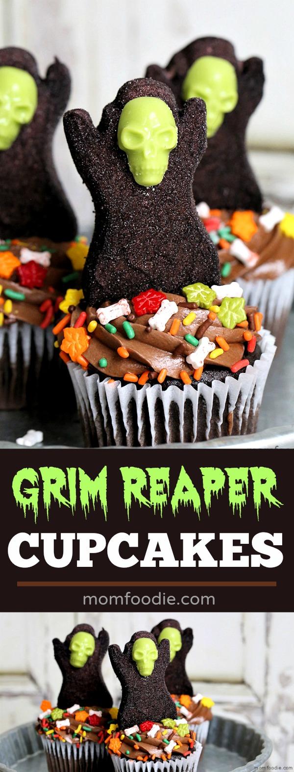 Grim Reaper Cupcakes