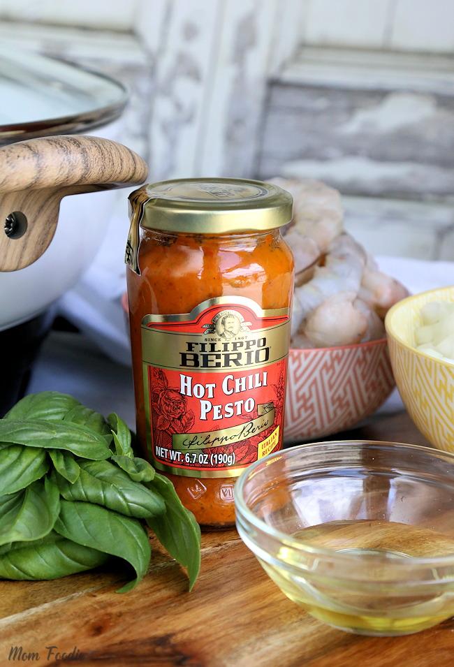 Hot Chili Pesto sauce