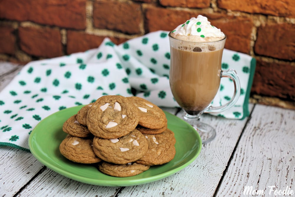 Irish Coffee Cookies St Patrick's Day Dessert Recipe