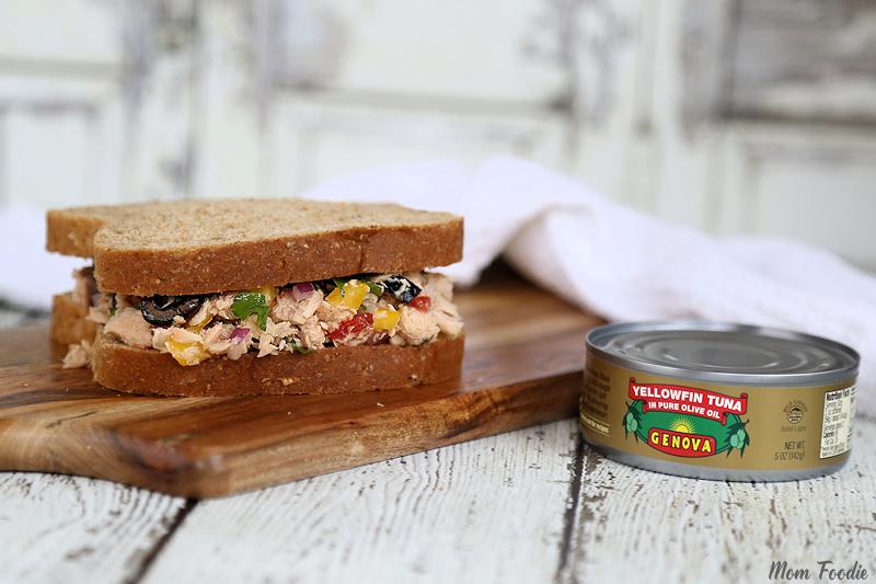 Italian Tuna Sandwich