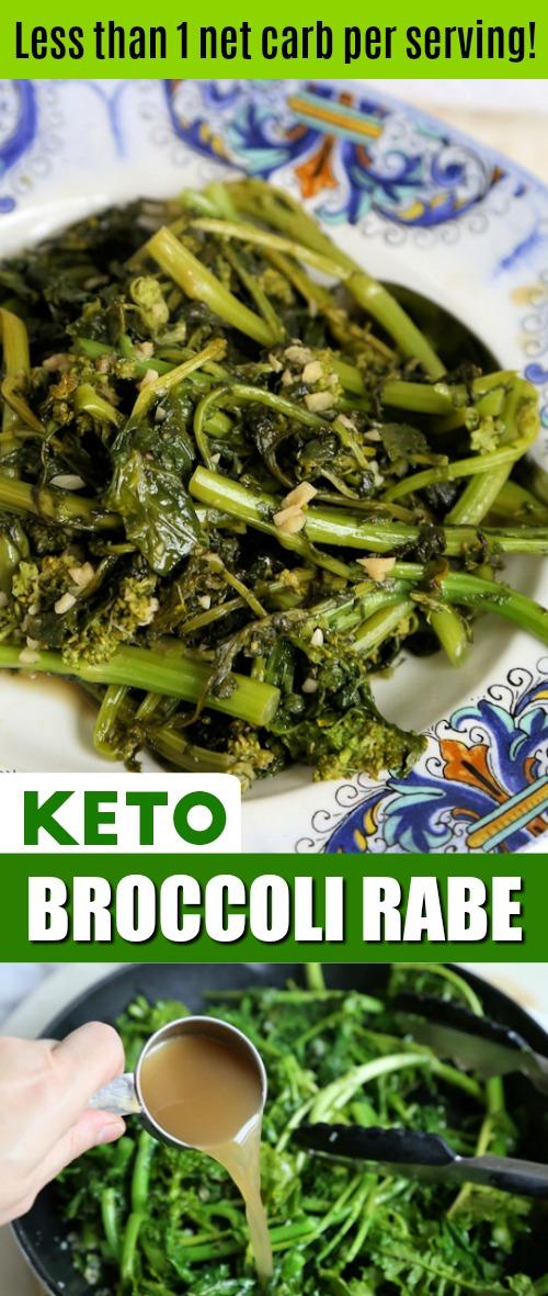 Keto Broccoli Rabe Recipe
