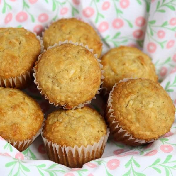 Pineapple Oatmeal Muffins Recipe Coconut