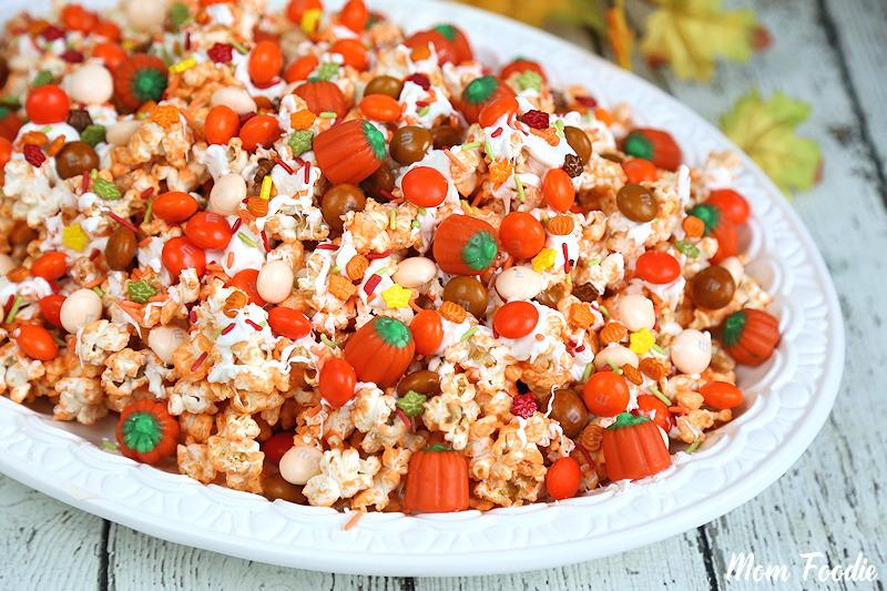 Pumpkin Spice Popcorn Mix - Fall Snack Recipe