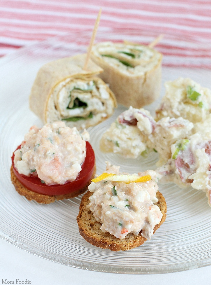 Savory Cottage Cheese Appetizers