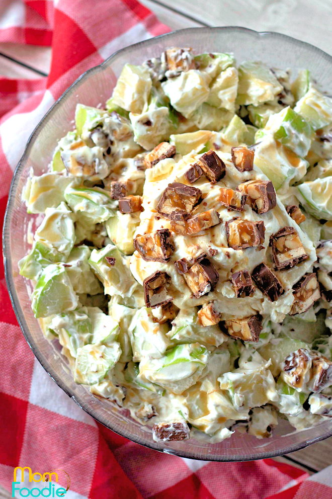 Snicker Apple Salad recipe