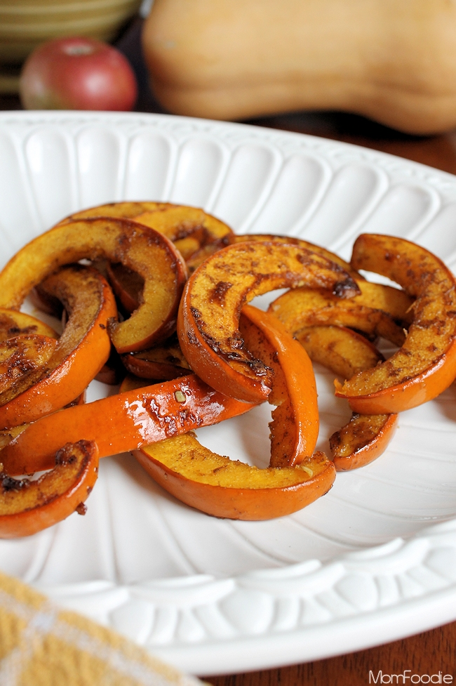 Spicy Honey Roast Pumpkin recipe