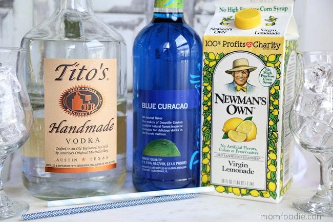 blue lagoon ingredients