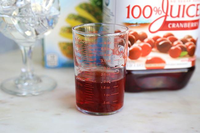 cranberry juice 2 ounces
