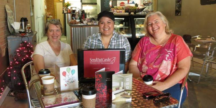 V002 Coffee Talk with Glenna Griffin and Tanya Lavoie
