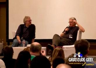 Peter Juraski and Bruce Boxleitner discuss their work on Tron.
