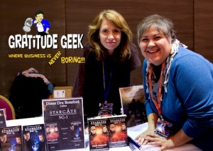 Diana Botsford and Kandas Rodarte at Space City Con