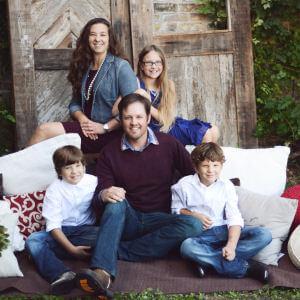 Karen Palmer and Her Family