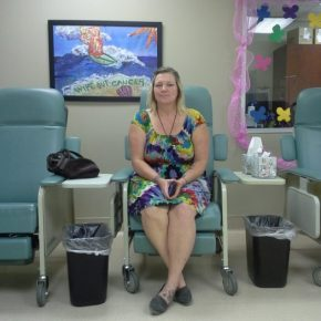 Tracy in the Visitors Chair
