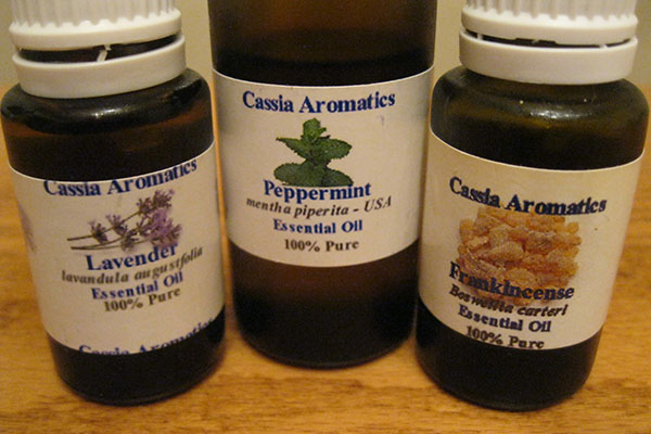 My top 3 essential oils for breast cancer treatment are peppermint, lavender and frankincense.