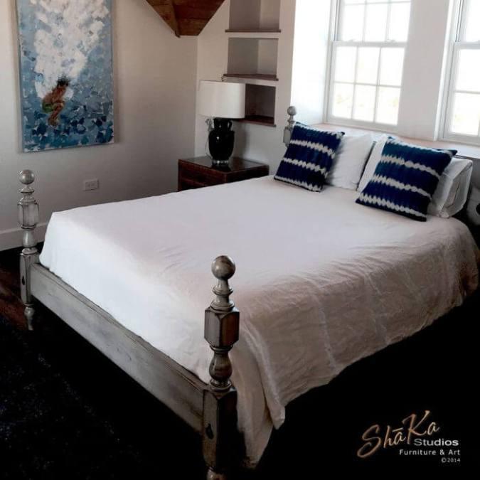 1830 Cannonball Bed by ShaKa Studios
