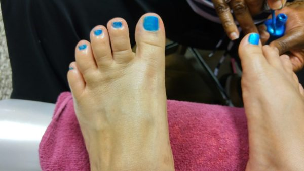 Pedicure from Aphrodite Salon and Spa at Apollo Hospital