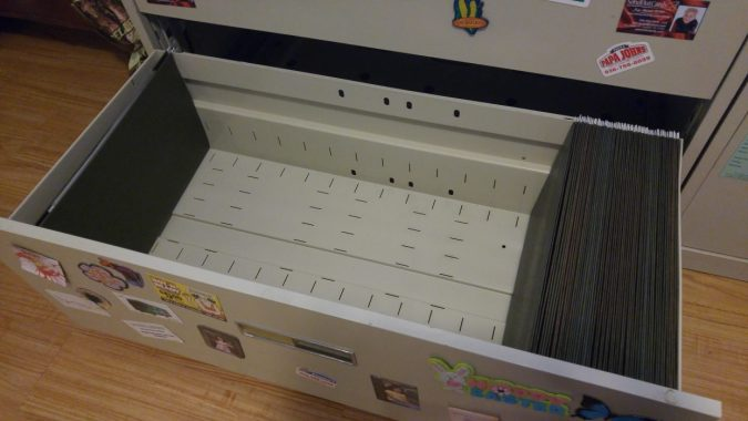 Success! Empty File Drawer