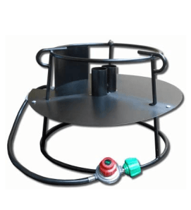 Metal Fusion Outdoor Double-Propane Cooker