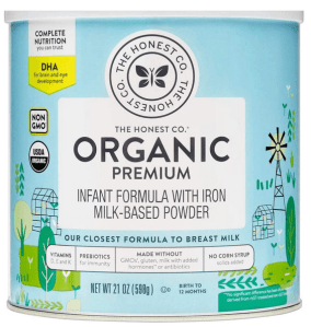 The Honest Co. Organic Infant Formula