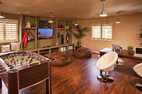 Are you looking for some amazing game room ideas? Rooms Repurposed -- Making Your Home Working for You