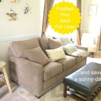 Feathering a Nest for Less & Saving for a Sunny Day