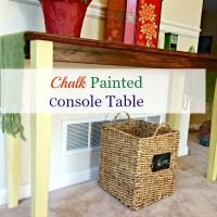 Chalk Paint® Decorative Paint by Annie Sloan Console Table