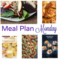 Meal Plan Monday -- Chicken Apple Feta Salad & Sheet Pan Nachos