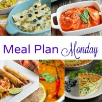 Meal Plan Monday -- Thai Coconut Peanut Soup & Spinach Quiche