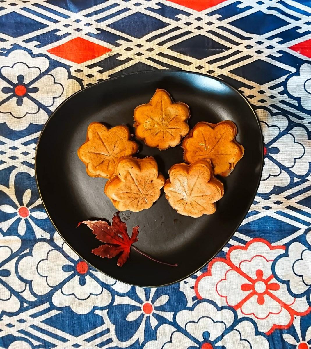 La recette du Momiji Manju, le gâteau automnal de Miyajima
