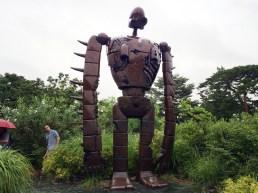 For size reference: human vs. Laputan robot