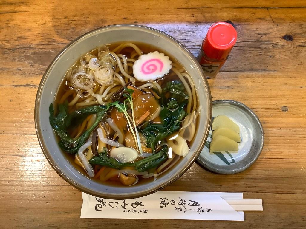 【温】山菜そばの画像