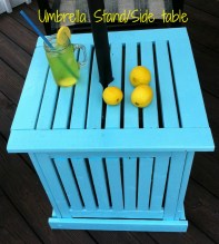 Umbrella Stand/Side Table