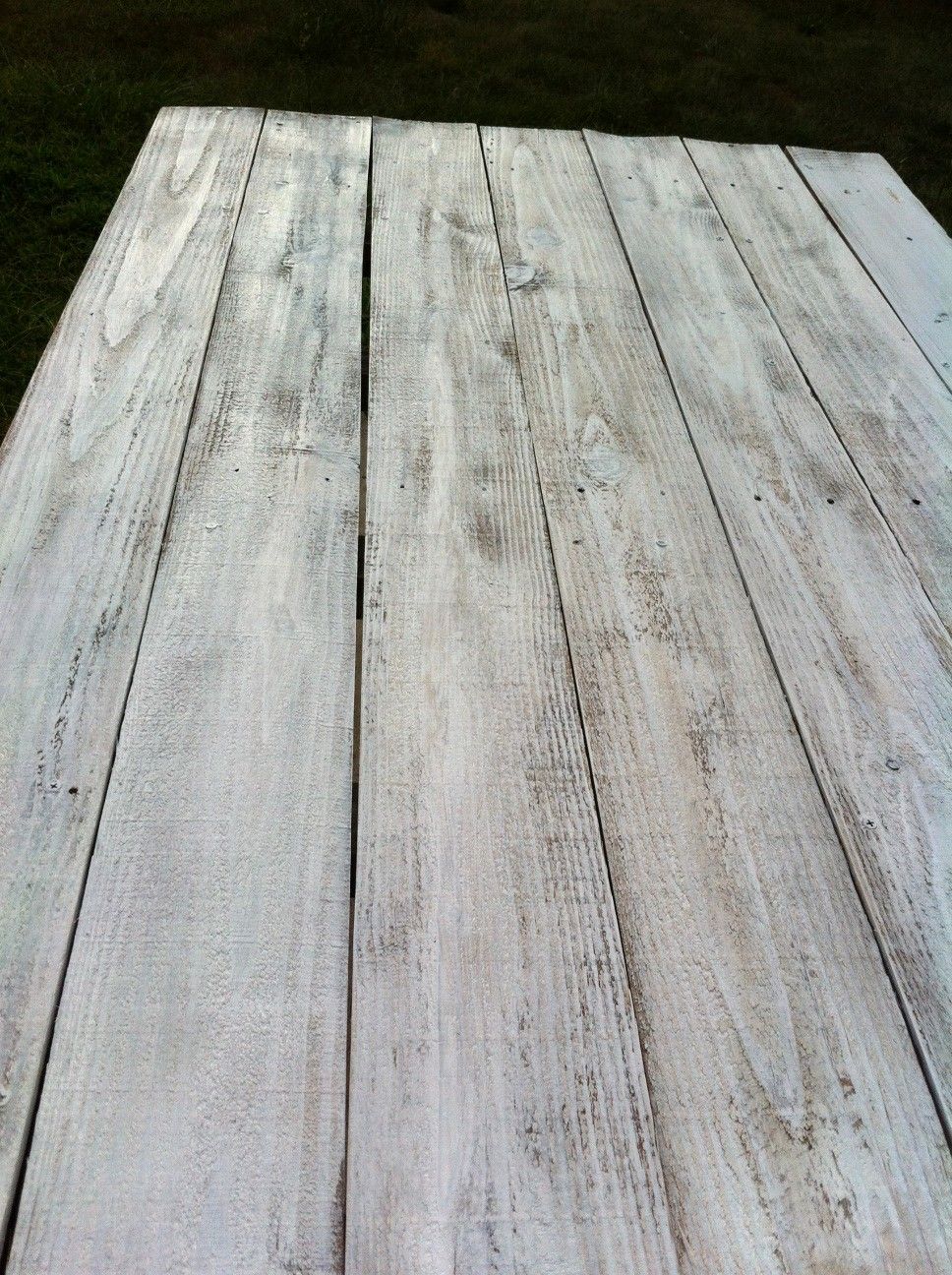 White Wash Wood Table Top Table Ideas