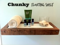 Chunky Floating Shelf