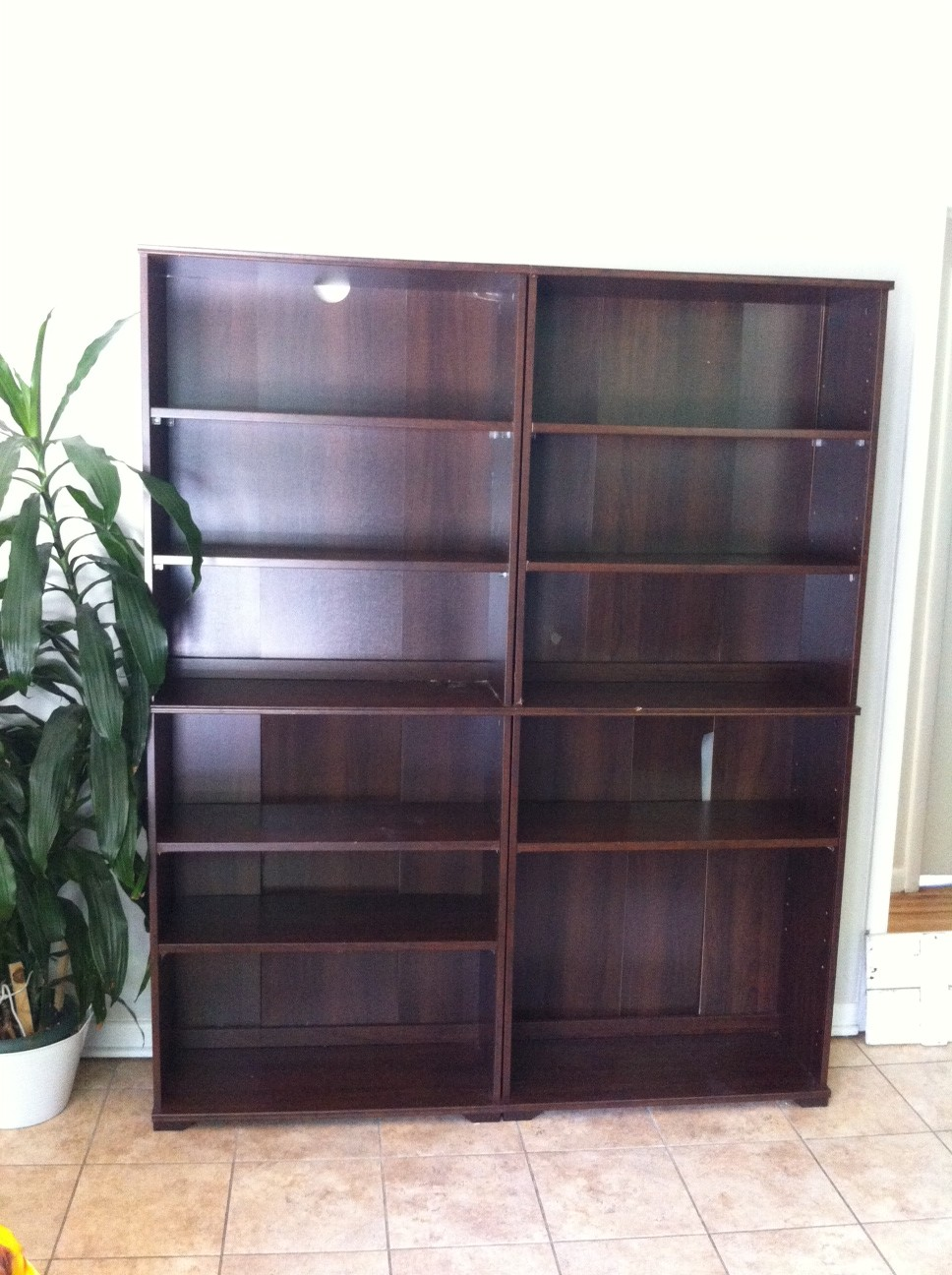 bookshelf to pantry