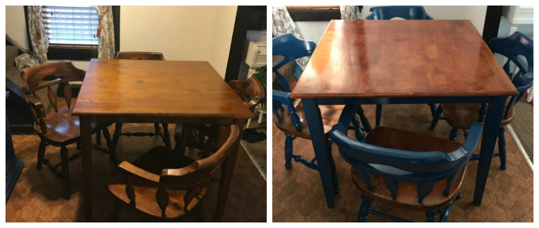 Kitchen Table Makeover graphic
