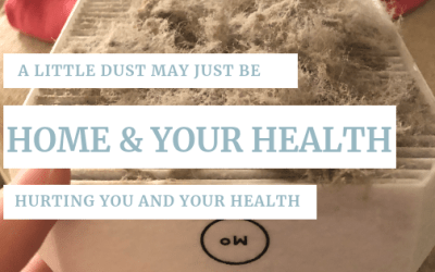A little dust MAY just be hurting you and your health