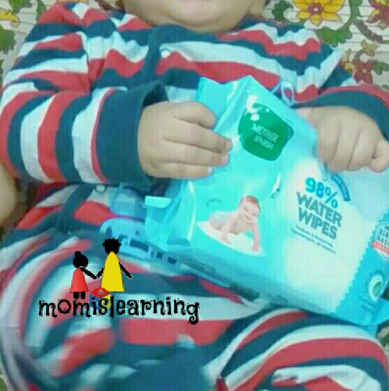 Momislearning wet wipes for baby