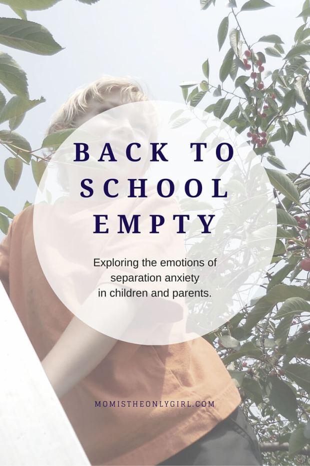 Title Back to School Empty