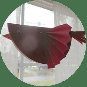 Cardinal Bird Craft
